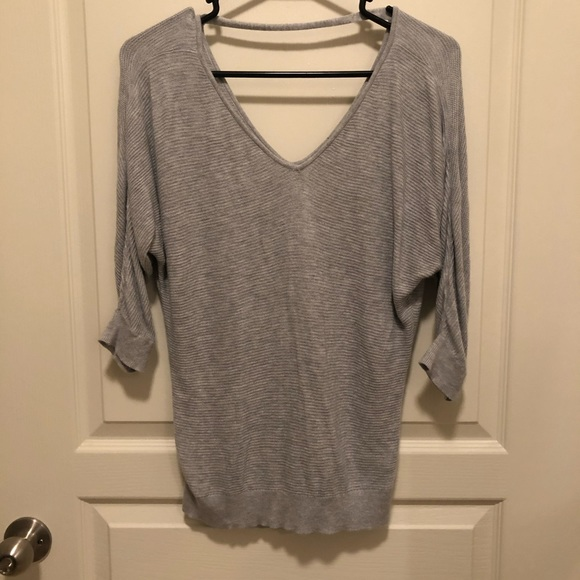 Express Sweaters - Express Vneck Sweater with back neck strap